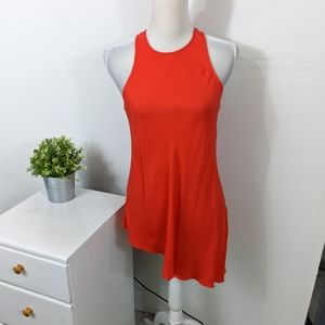 Cinq a Sept Dylan Asymmetric Top Grenadine Red XS